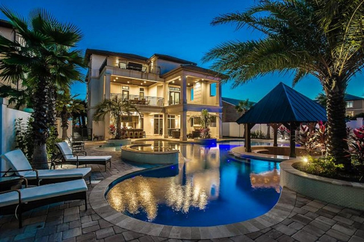 As sweet as possible destiny grand palms destin area for Vacation mansions