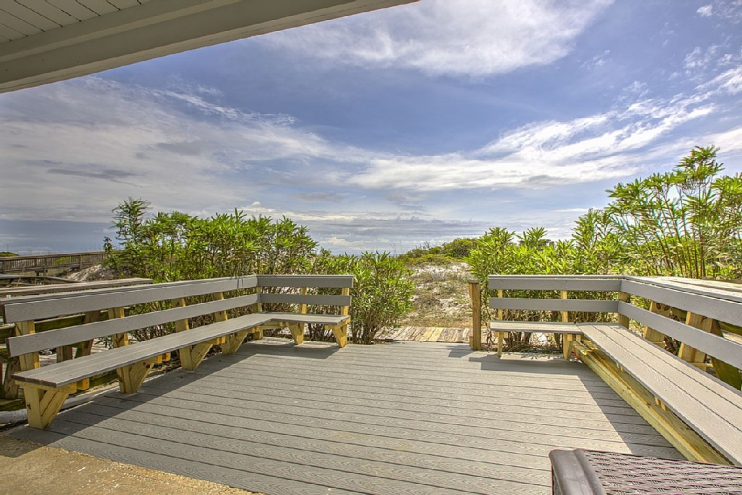 The kazoo 30a beachfront home pool hot tub santa rosa for House of blueprints santa rosa beach