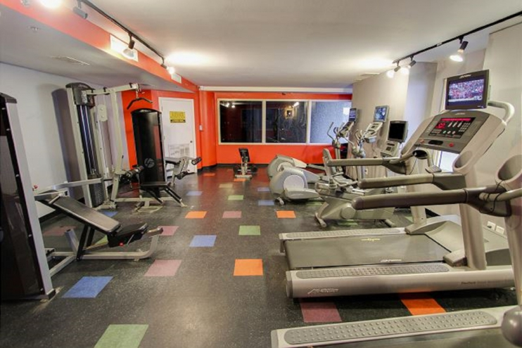 Shores of Panama has a complete exercise facility for your use.