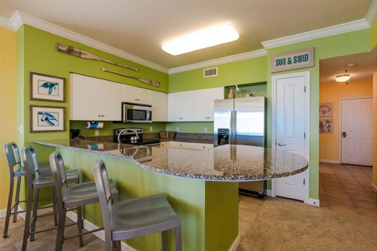 Remodeled kitchen fully equipped with all items needed for a family meal