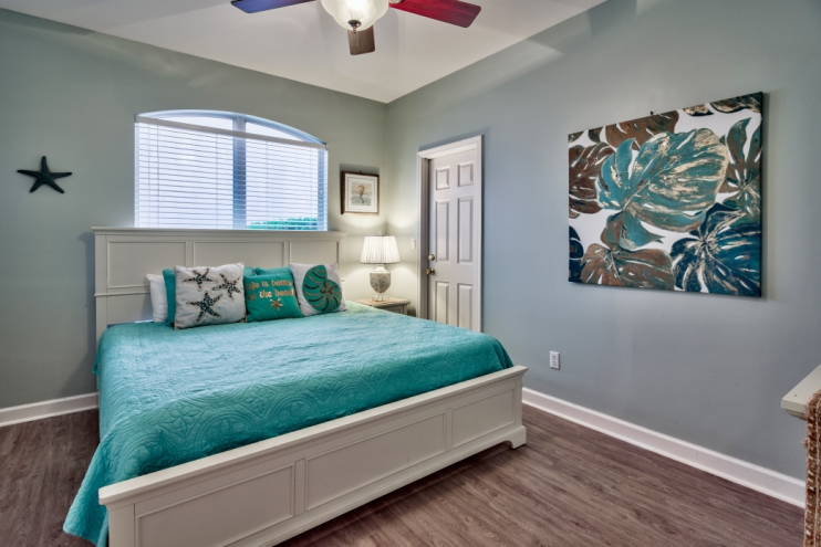 Master bedroom with king-size bed and ensuite bathroom!