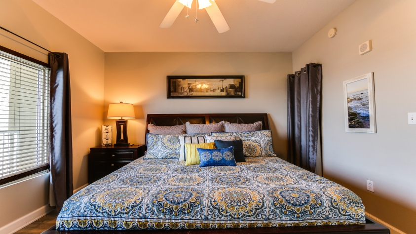 1st Master bedroom.