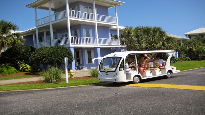 Home is very close to the beach but if desired there is a season shuttle