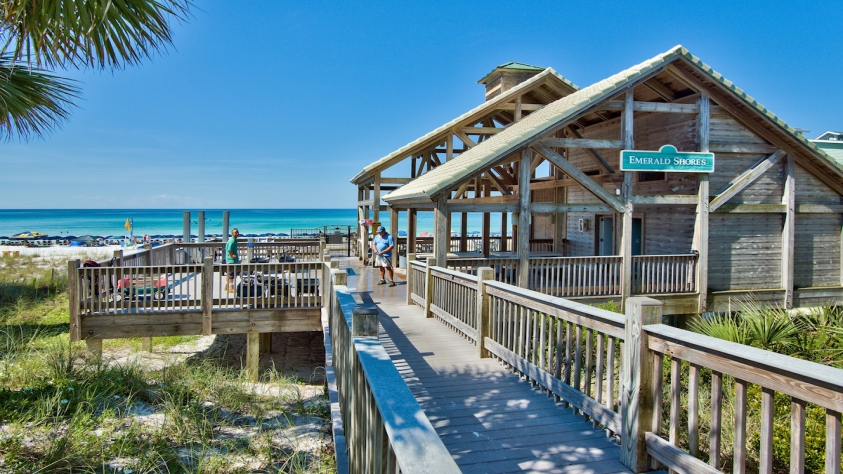 One of a kind Beach Pavilion for your use at Emerald Shores