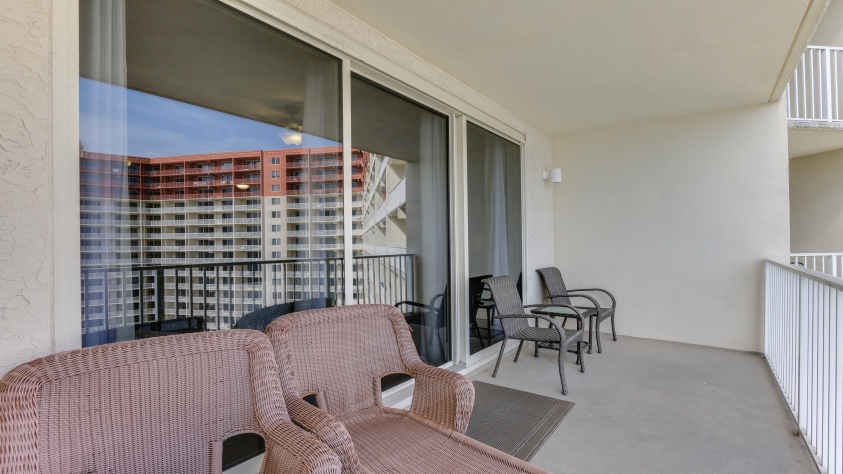 1709 Shores of Panama Balcony Living at its Best!