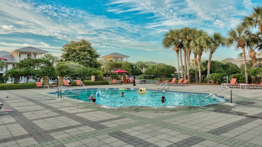 One of 2 seasonally heated pools at Emerald Shores!