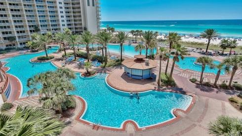Shores of Panama Resort 609 Gulf Front - Thumbnail Image #1